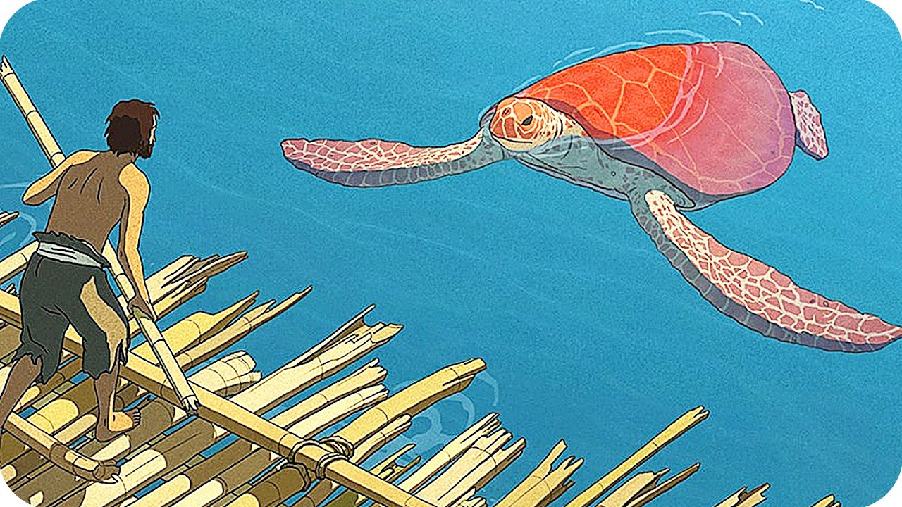 The Red Turtle Trailer 2016 Studio Ghibli Movie Youtube