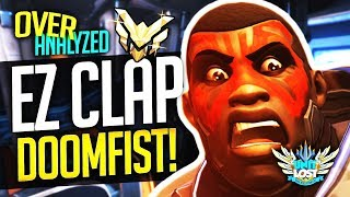 Overwatch Coaching - Doomfist EZ CLAP! MASTER SR! [OverAnalyzed]