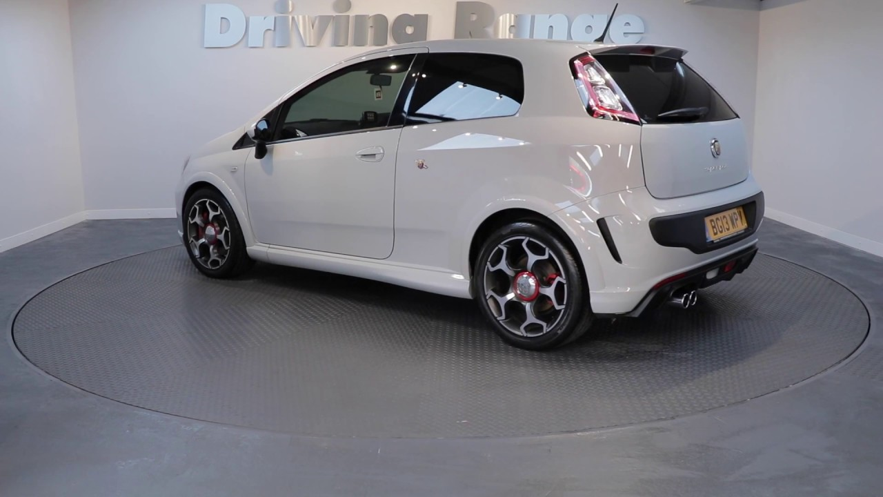 2013 13 Abarth Punto Evo Supersport - YouTube