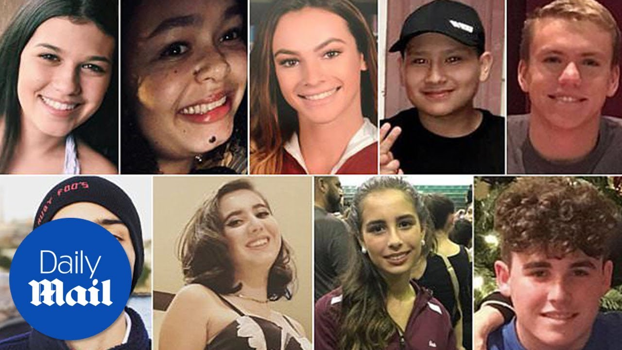 These Are The Victims Of The School Shooting In Florida forecasting