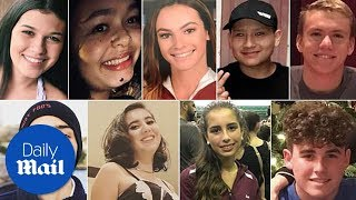 These are all 17 victims of the Florida school shooting - Daily Mail