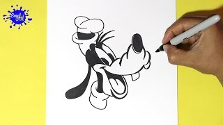 Como Dibujar a Goofy - How to Draw Goofy
