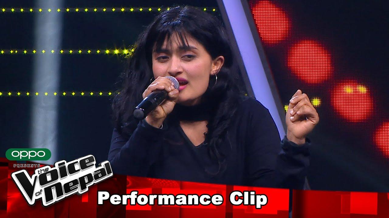 "Barsha Thapa ""Dubna Deu Malai…""| Blind Audition Performance | The Voice of Nepal S3"