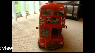 Revell AEC Routemaster bus model kit.m4v