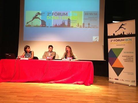 La Diputació de Barcelona, a la presentació del Fòrum BCN Dona i Esport 2016