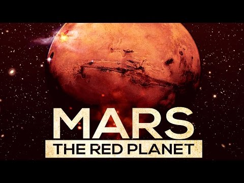 The Universe. Mars the red planet HD