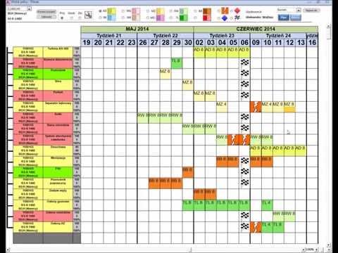 Microsoft Access interactive Gantt Chart
