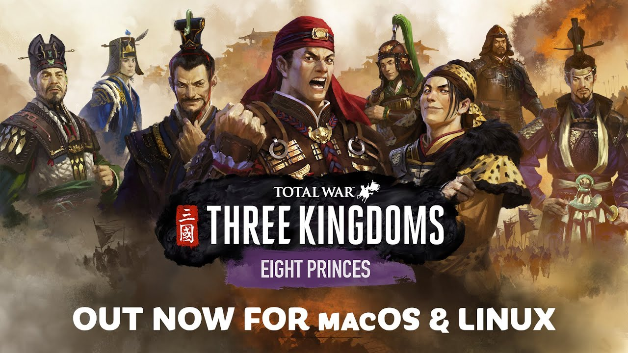 Total War: Three Kingdoms Eight Princes DLC Now Available