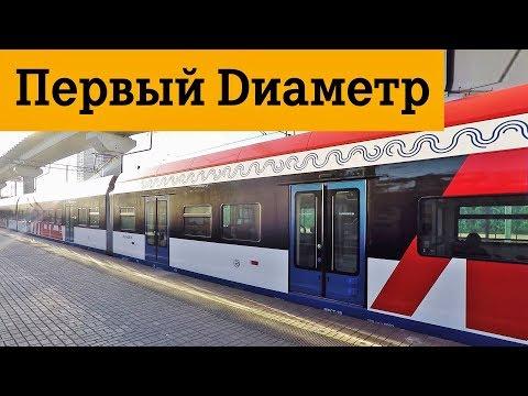 МЦД 1 Московские центральные диаметры станции