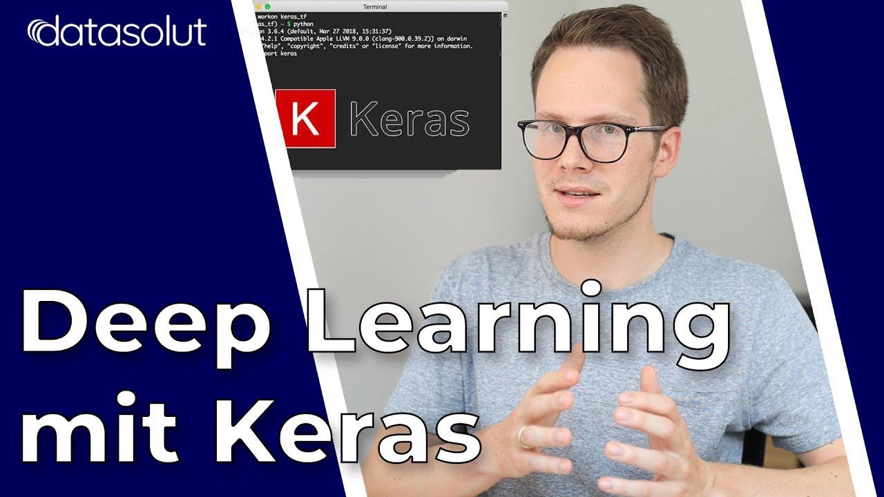 KI Bilderkennung Programmieren   Anfänger Tutorial in Keras Deep Learning