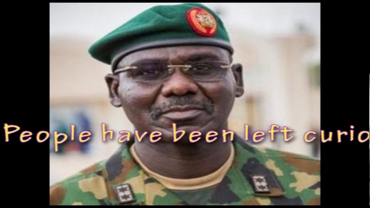 Download Chief of Army Staff, General Buratai Taking a Selfie with His Pet Snake