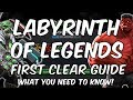 Labyrinth Of Legends First Clear Guide - What You Need To Know - Marvel Contest Of Champions