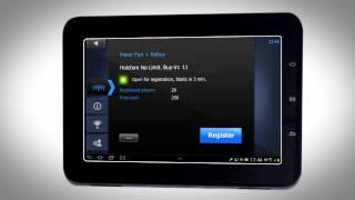 Мобильный покер на планшете с Андроид или Ipad