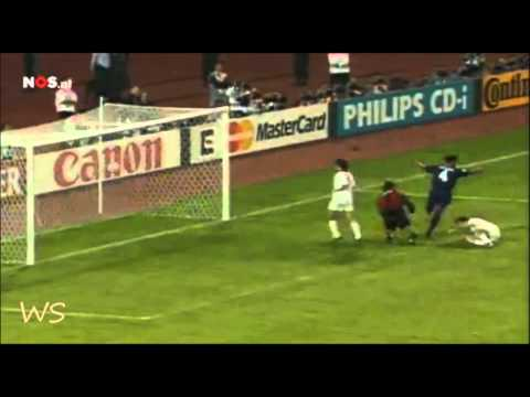 Patrick Kluivert Goal vs AC Milan (Champions League Final 1995)