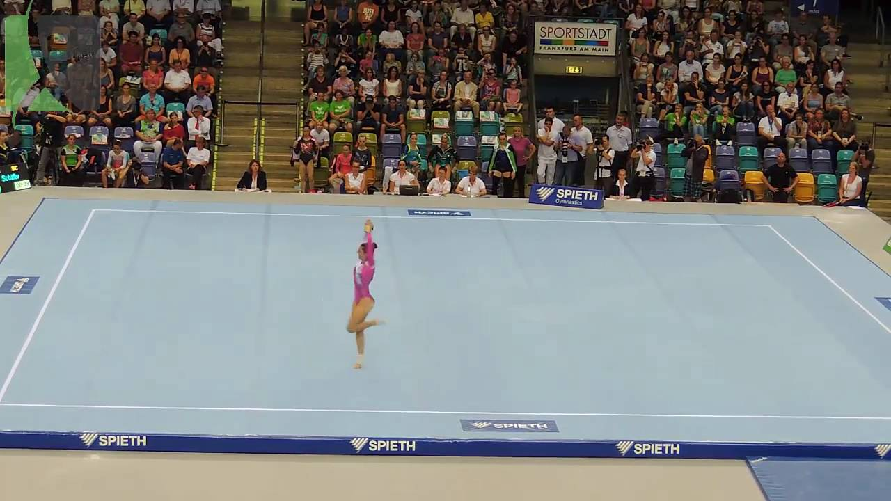Pauline Schafer Boden 2 Olympia Qualifikation 2016 Youtube