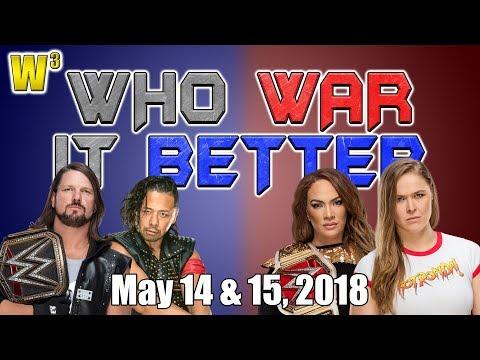 Nia Jax Challenges Ronda Rousey! AJ and Shinsuke Battle! | Who War It Better