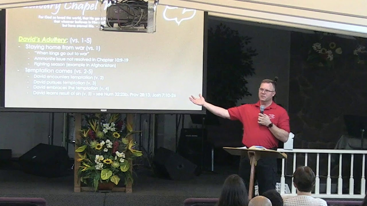 09 January 2019 | CCWO Midweek study 'Temptation and Sin' 2 Sam  11 | Pastor Dan Jacobson