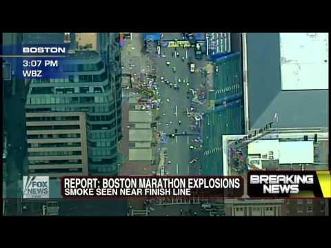 America : Terrorist Attack at the Finish Line of the Boston Marathon (Apr 15, 2013)