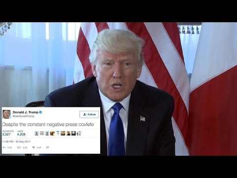 Thumbnail: Donald Trump's Mysterious 'Covfefe' Tweet Prompts Confusion