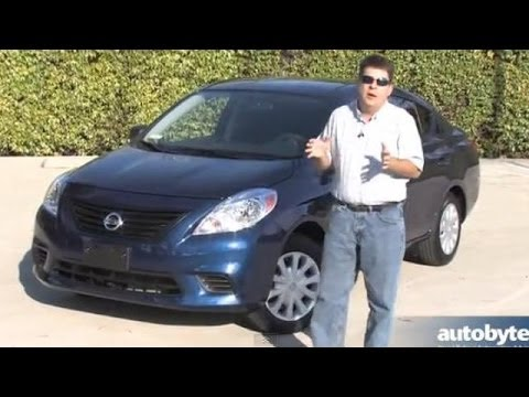 Cheapest Car in America - 2014 Nissan Versa S Test Drive Video Review