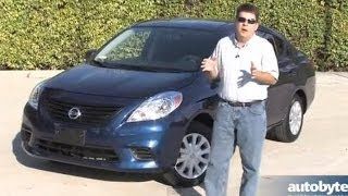 Cheapest Car in America 2014 Nissan Versa S Test Drive Video Review