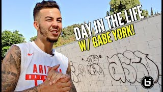 Day In The Life w/ Gabe York! Getting Ready For NBA Training Camp & Keeping The Dream Alive!