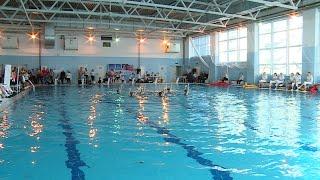 В Волгограде состоялись юниорские соревнования по синхронному плаванию