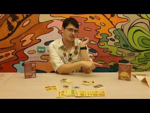 Колонизаторы Быстрая карточная игра   The Struggle For Catan Распаковка Unboxing