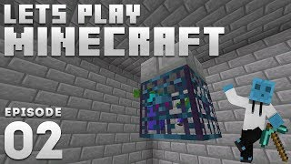 iJevin Plays Minecraft - Ep. 2: DIAMOND GRINDER! (1.14 Minecraft Let's Play)