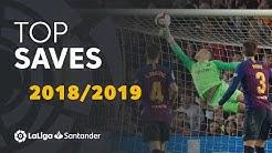 TOP 20 SAVES LaLiga Santander 2018/2019