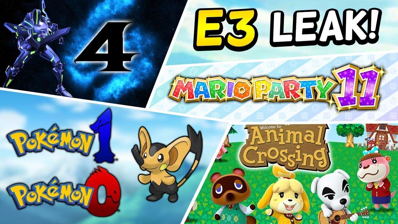 IS THIS NINTENDO'S E3 2018?! - Pokémon Switch, Super Smash Bros, Metroid Prime 4 & More! [Rumor]