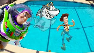 Toy Story 4 Swimming Pool Adventure at Ellie's Summer Camp
