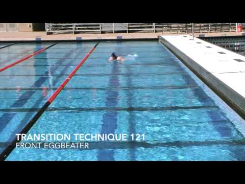 Water Polo Drills: Transition Drill 121, Front Eggbeater