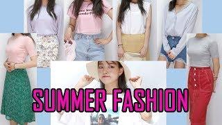 여름맞이 27가지 패션 하울(예쁜 것 잔뜩) #인터넷쇼…