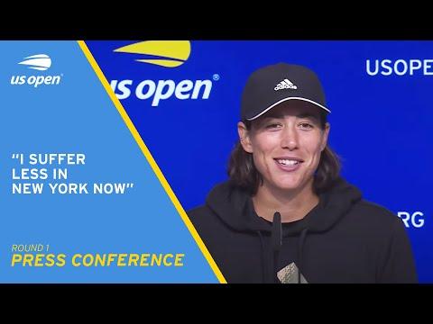 Garbiñe Muguruza Press Conference | 2021 US Open Round 1
