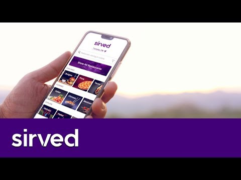 Sirved - Innovative Restaurant Discovery
