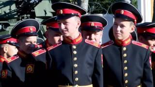 1 сентября в Московском Суворовском военном училище