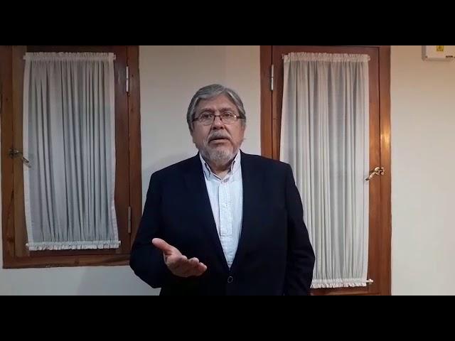 Saludo de Fernando Navarro secretario de Relaciones Políticas y Parlamentarias de la Presidencia