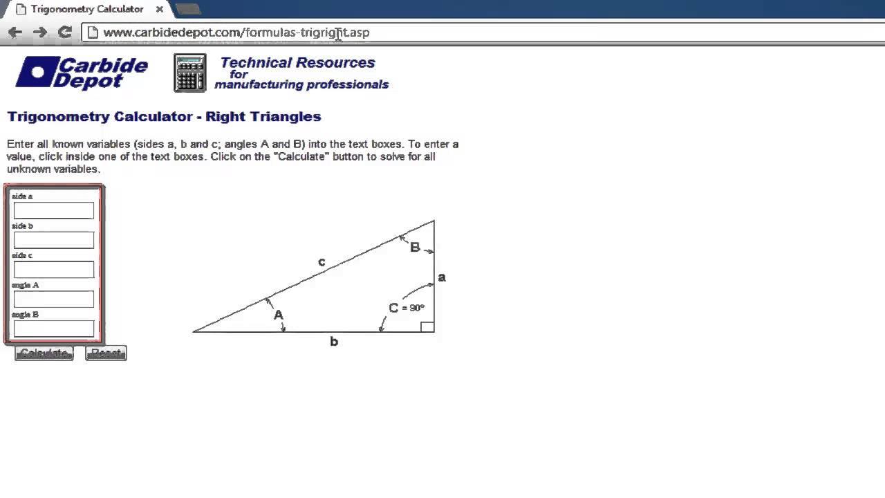 How to Use Calculator for Trigonometry