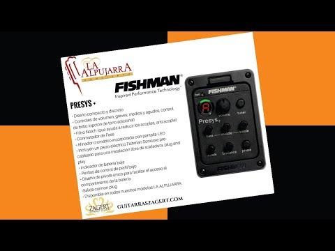 Fishman Presys + Micrófono Para Guitarra Clásica - Jesús Amaya...