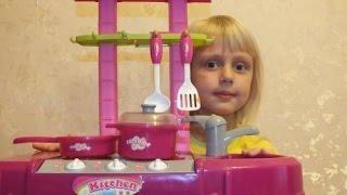 Игрушечная кухня. Готовим из PlayDoh. Видео для детей. Toy kitchen. Play Doh.(Диана и Дима играют и готовят., 2015-12-20T16:16:55.000Z)