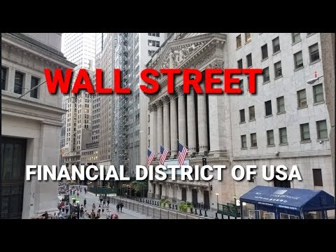 Exploring Wall Street 🗽🇺🇸 - The Major Financial Center in USA | New York City