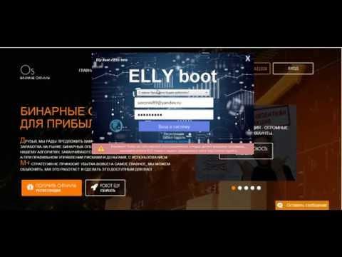 Обзор торгового робота для бинарных опционов Elly BooT