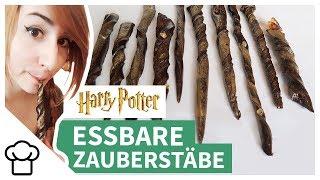 Essbare Harry Potter Zauberstäbe selber machen