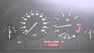 BMW 5 Series (E39) oil pressure problem BMW, бмв е39 проблемы с давлением масла. M54B22.