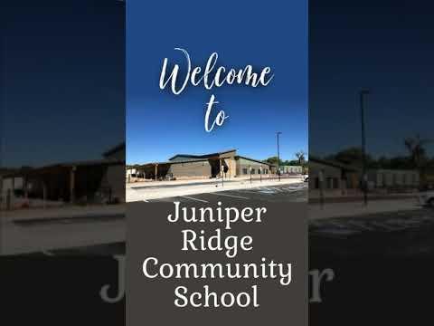 Welcome to Juniper Ridge Community School!