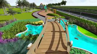 Landscape Design in 3D of Farm House by Nandu Sundeep(M.Sc Horticultural Landscaping) Grandhi Rao