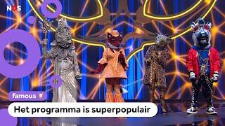 Winnaar van The Masked Singer: 'Het masker zat erg strak'