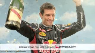 2013 Australian Grand Prix with Qantas Amassador Mark Webber