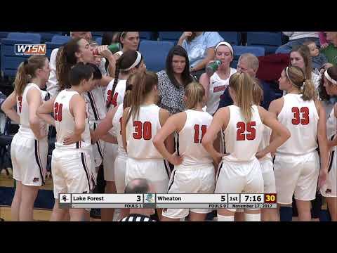 2017-11-17 Women's Basketball vs Lake Forest (Beth Baker Classic)